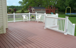 Low cost wood decks, pressure treated wood decks, southeastern MA, Cape Cod, Wareham MA